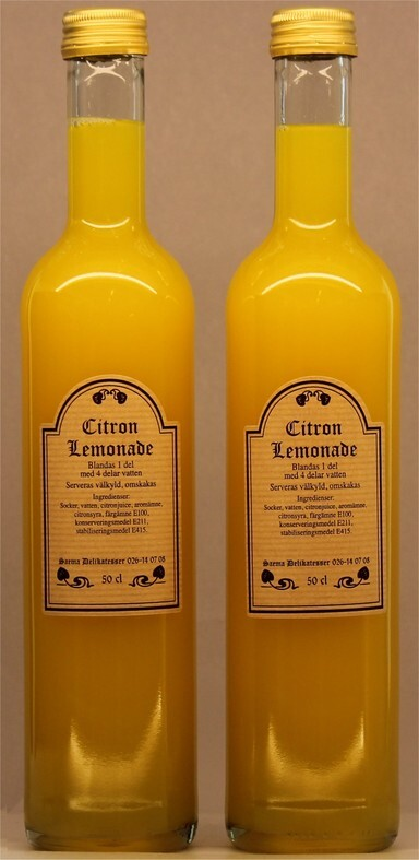 Citron Lemonad koncentrat 50cl 1x6