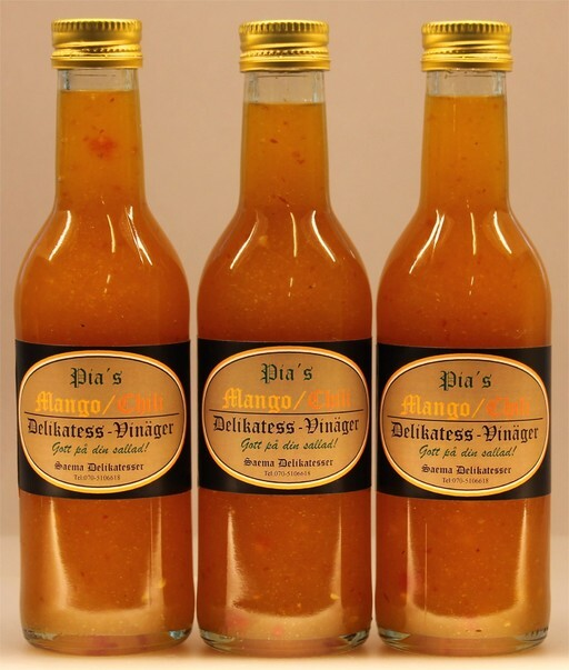 Mango/Chili Salladsdressing vinägrette 250ml 12 pack